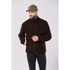 """Флисовая мужская куртка """"Gerkon Picnic"""" цвет """"Коричневый"""""""