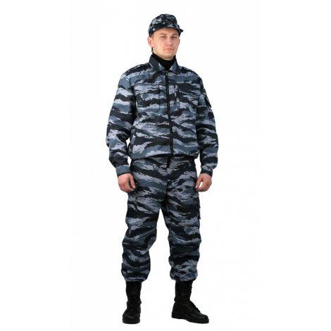 "Костюм охранника мужской ""Контрол"" летний серый вихрь"