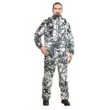 Костюм «Никс-НТ» (ткань: флис, цвет: белый лес) Квест