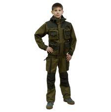 Костюм «Пайер Осень» детский (ткань: палатка, флис, цвет: хаки) Payer