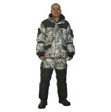 Костюм«Горка Зима» (ткань алова, цвет белая цифра) Payer