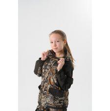 Костюм «Горка Осень» детский (ткань: алова, цвет: золотая ветка) Маугли