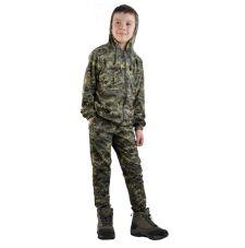 "Костюм детский трикотажный ""Тигр"" серо-зеленая цифра (куртка + брюки 100%х/б)"