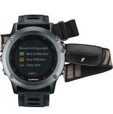 Garmin FENIX® 3 HRM Серый с черным ремешком и пульсометром