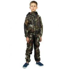 Костюм «Грибник» детский (ткань: оксфорд, цвет: лес) Маугли