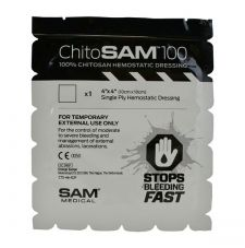 Кровоостанавливающая салфетка 10 Х 10 СМ ChitoSAM SAM MEDICAL