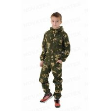 Костюм «Пионер» детский (ткань: сорочка, цвет: граница) Маугли