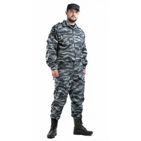 """Костюм мужской """"Спецназ"""" тк.смесовая ТВИЛ """"Серый вихрь"""""""