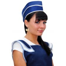 Пилотка нейлоновая темно-синяя