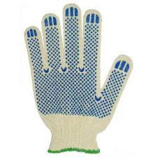 Перчатки х/б Стандарт ПВХ-точка 10 кл
