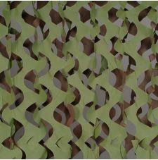 """Сеть маскировочная """"Экон"""" ЭС-6 2,4х6м (зелёный-коричневый)"""
