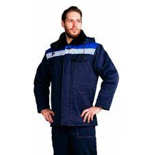 """Костюм зимний """"Патриот"""" мужской куртка, брюки т.синий с васильковым"""