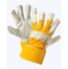Перчатки комбинированные ткань - кожа, тип Юкон
