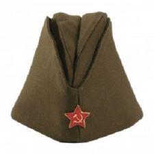 Пилотка солдатская со звездой ВОВ