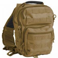 Рюкзак на одной лямке Small Mil-Tec, цвет Coyote
