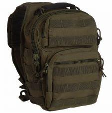 Рюкзак на одной лямке Small Mil-Tec, цвет OLIVE