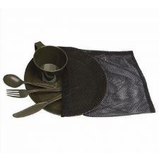 Набор посуды CAMP-SET MIL-TEC, цвет Olive