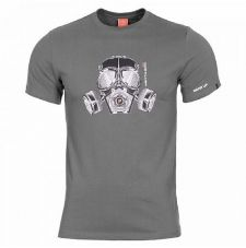 Футболка GAS MASK Pentagon, цвет Wolf Grey