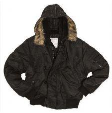 Куртка летная N2B MIL-TEC, цвет Black