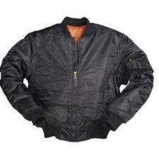 Куртка летная TYP МА1 Mil-Tec, цвет Pes Black