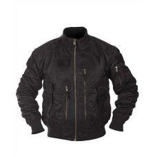 Куртка летная US TACTICAL, цвет Black