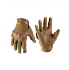 Перчатки тактические кожаные ARAMIDE, цвет Dark Coyote