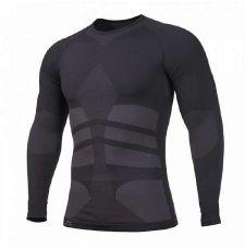 Компрессионный лонгслив PLEXIS Pentagon, цвет Black
