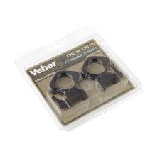 Кольца для прицела Veber E 3421 MS быстросъемные